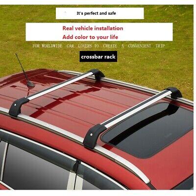 Crossbar For Hyundai Santa Fe Xl 2019 Cross Bar Roof Rail Rack 2020 Ebay