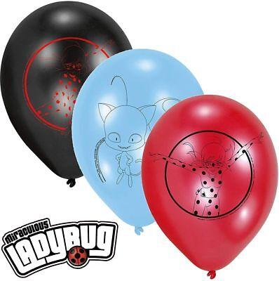 """xl Folienballon Miraculous Ladybug Kindergeburtstag Ballon Helium Luftballon 38/"""""""