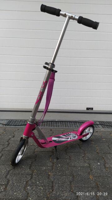 Hudora Big Wheel 205 Alu Scooter pink