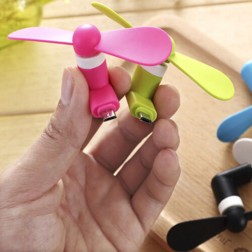 Portable Mini Fan For Smartphones Android Phone Super Mute USB Cooler Micro