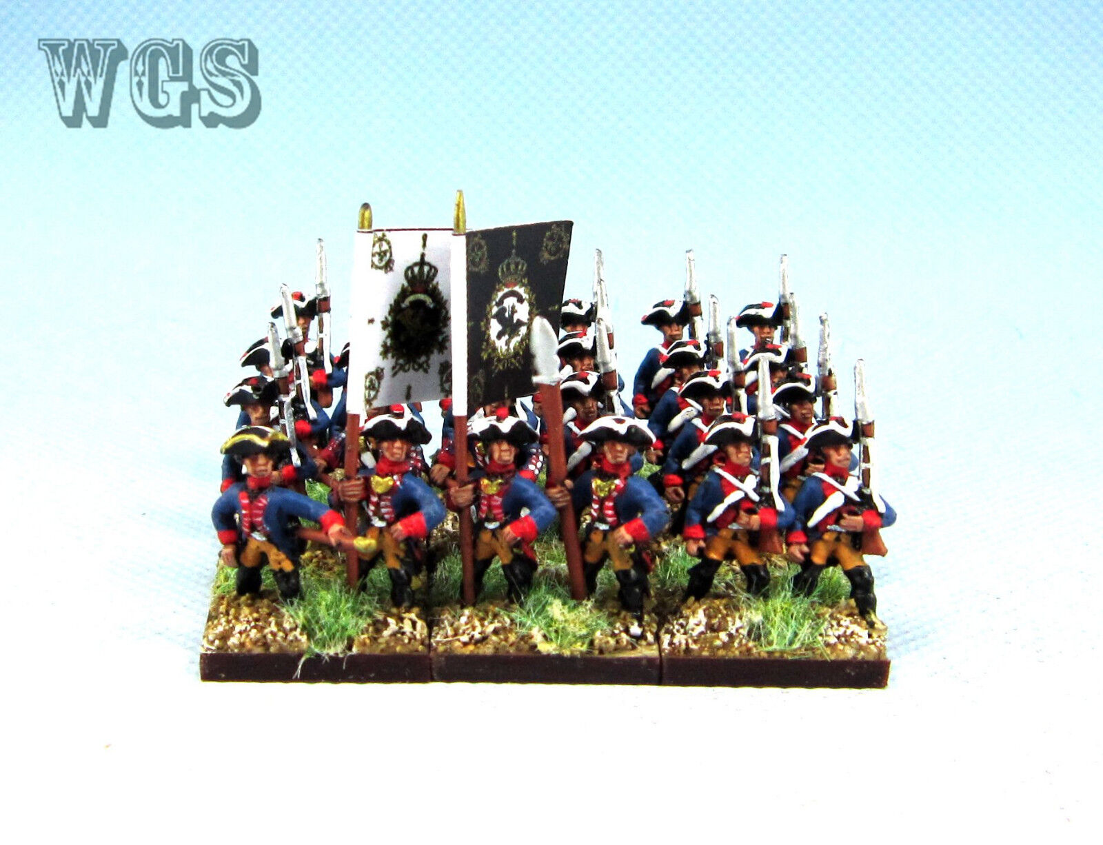 15 syw sieben jahre krieg wgs preußischen musketier btln pa15 gemalt