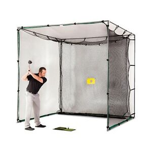 GOLF-CAGE-10x10x10-WITH-COMPLETE-STEEL-FRAME-AND-GOLF-NET