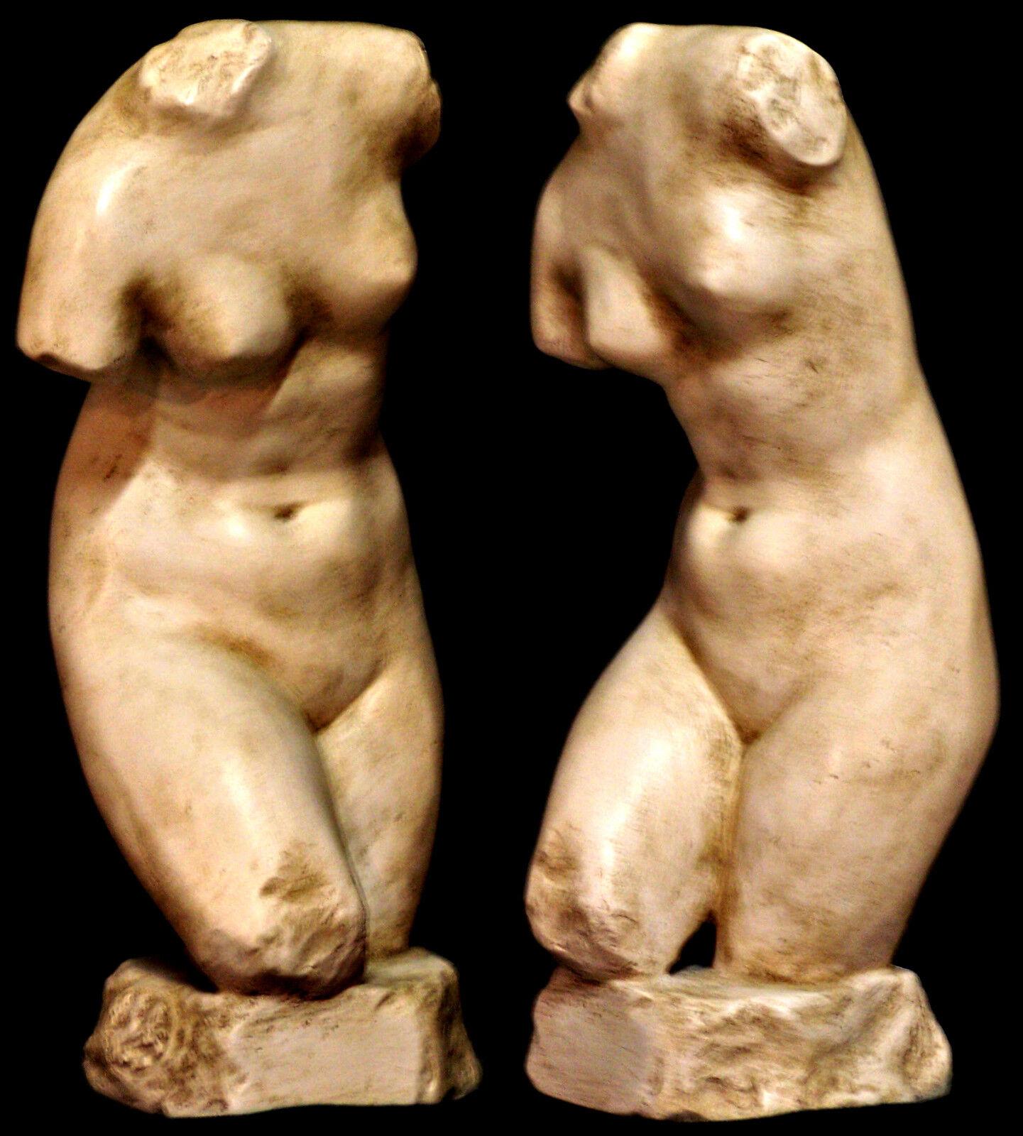 Escultura de estilo italiano Griego Torso De Afrodita Venus diosa del amor, belleza