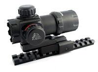 "UTG ITA RED GREEN DOT SCOPE KIT MOSSBERG 500 SHOTGUN TACTICAL WEAVER RAIL 3.9"""