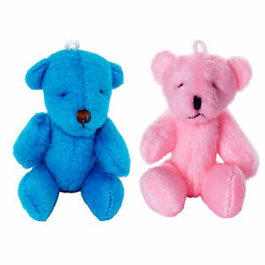 Teddy Cuddly New Pink Bears Gift Cute And Soft Small Blue AL35RS4cjq
