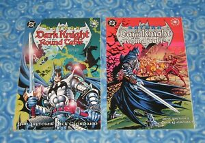 New Batman Dark Knight of the Round Table 1 and 2 Graphic Novel TPB Set DC Comic