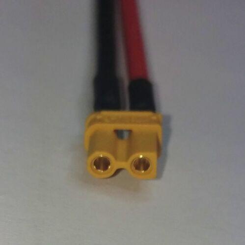 XT30 Buchse auf XT30 Stecker Verlängerungskabel Adapterkabel AWG16 Neu