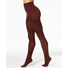 c767a5d7eb222a Spanx by Sara Blakely Tights Sz a Chestnut Brown Cable Knit Nylon Tight  20044r for sale online | eBay