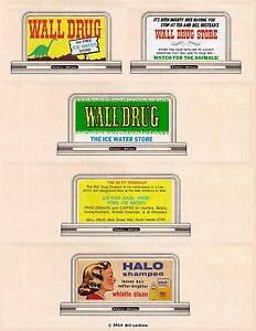 5-billboard-sign-set-89-N-or-Z-scale-Wall-Drug-Store-034-Free-Ice-Water-034