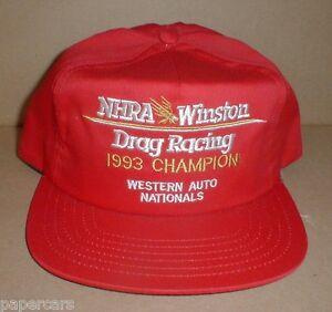 8563fc8dcfe Image is loading NHRA-Winston-Drag-Racing-Vintage-Champion-Western-Auto-