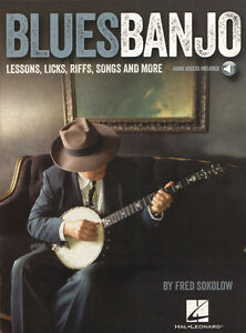 Fred-Sokolow-Blues-Banjo-Lessons-Licks-Riffs-Noten-Songbook-m-Download-Code