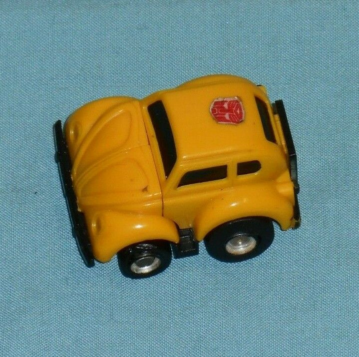 G1 Original Transformers Mini-Bot Jaune Bourdon 100% complet