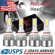 90059006 Combo Led Headlight Bulb Kit For Chevy Silverado1500 2500 Hd 2001 2006 Fits 2005 Chevrolet Silverado 2500 Hd Ls