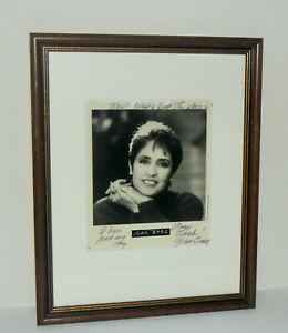 Joan-Baez-Autographed-Framed-Photo