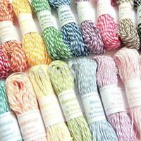 10M 2mm Cotton Twine Wedding Party DIY Crafts String Ribbon 10 Divine Colors