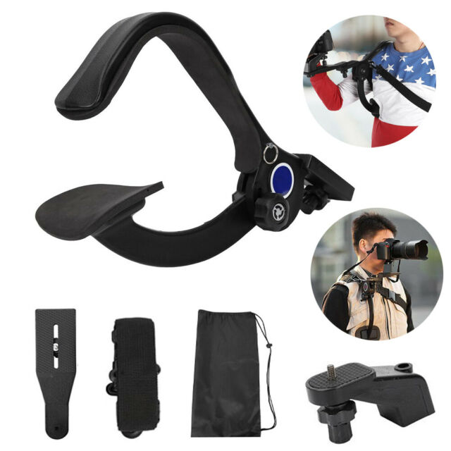 Shoulder Pad Mount Camcorder DV Video Camera Hand Free Stabilizer Support WN