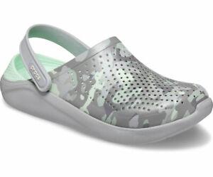 Crocs LiteRide Printed Camo Clogs