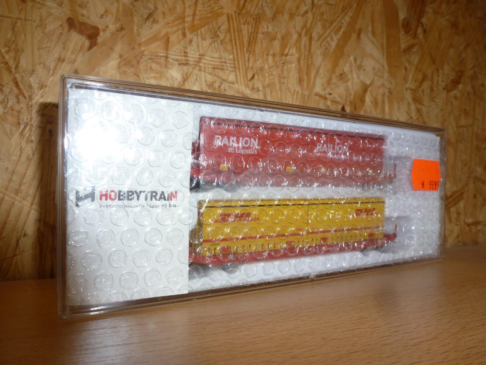HOBBY TRAIN 2er Set sgkkms 689 Jumbo cambio Branda Railion DHL, Ep. vi