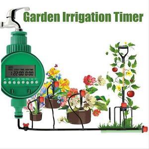 Image Is Loading Automatic Water Timer Garden Hose  Sprinkler Irrigation Controller