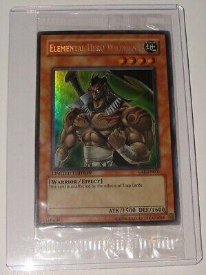 Yugioh Elemental HERO Wildheart EE04-JP068 Japanese Super