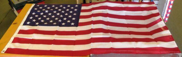 HEATH 25404 3 x 5 foot Polycotton American Flag w// Printed Stars and Stripes NEW