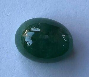 11.65 CT 100/% Natural Emerald Dark Green Shade Cabochon Oval 16X12X8 MM Loose Gemstone Brazil