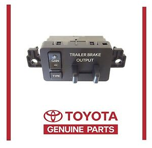 Details About Toyota 2016 2017 Tundra Instrument Panel Brake Controller 89547 0c011