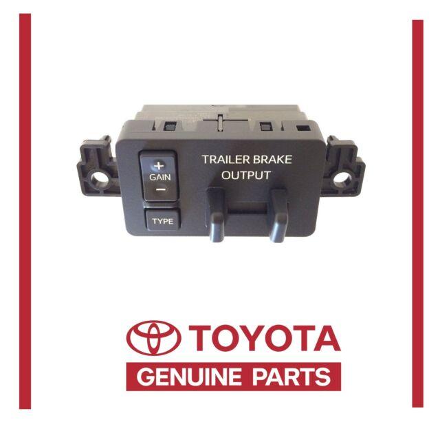 Electric Trailer Brake Controller >> Toyota Genuine OEM Tundra Electric Trailer Brake