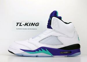 2aa63268ca6744 2018 Nike Air Jordan Retro 5 V NRG Fresh Prince Of Bel Air Grape ...