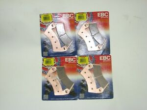 EBC-Sintered-Front-AND-Rear-ALL-FOUR-Brake-Pads-For-Polaris-RZR-1000-14-15