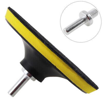 "5/"" Sanding Disc Polishing Pad Hook And Loop Buffering Backing Plate 8mm Shank"