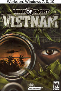 Line Of Sight Vietnam Pc Windows 7 8 10 More Games In Store Ebay