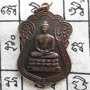Genuine-Buddha-Phra-Phut-Barami-Thai-Amulet-Pendant-Life-Protect-Wealth-Talisman