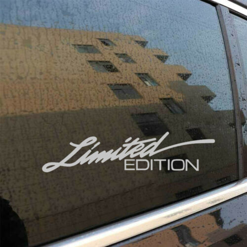 Letter Decal Auto-styling Car Window Sticker LIMITED EDITION Car Accessories 1*