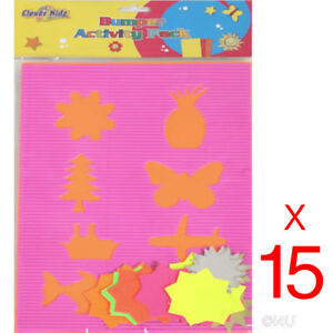 15-X-A4-CHILDREN-039-S-BUMPER-ACTIVITY-PACK-SHAPES-KIDS-CARDS-LEARNING-CRAFT