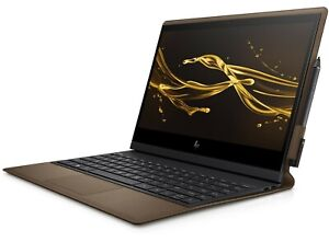 """HP Spectre Folio 13.3"""" 1080 Touch Notebook i5 8GB 256GB SSD W10 Leather Brown"""