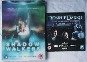 Shadow-Walkers-DVD-With-3D-Lenticular-Cover-amp-Donnie-Darko-Promo-DVD