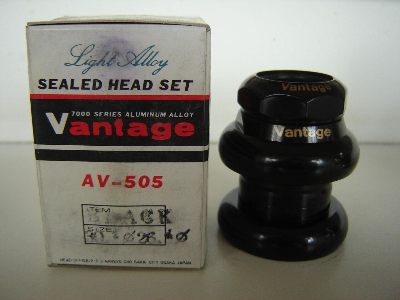 TANGE - VANTAGE AV-505 negro HEADSET- NOS - TANGE NIB 137565