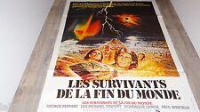 LES SURVIVANTS DE LA FIN DU MONDE !  affiche cinema 1978