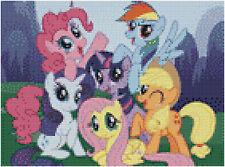 My Little Pony 14 Count Cross Stitch Kit