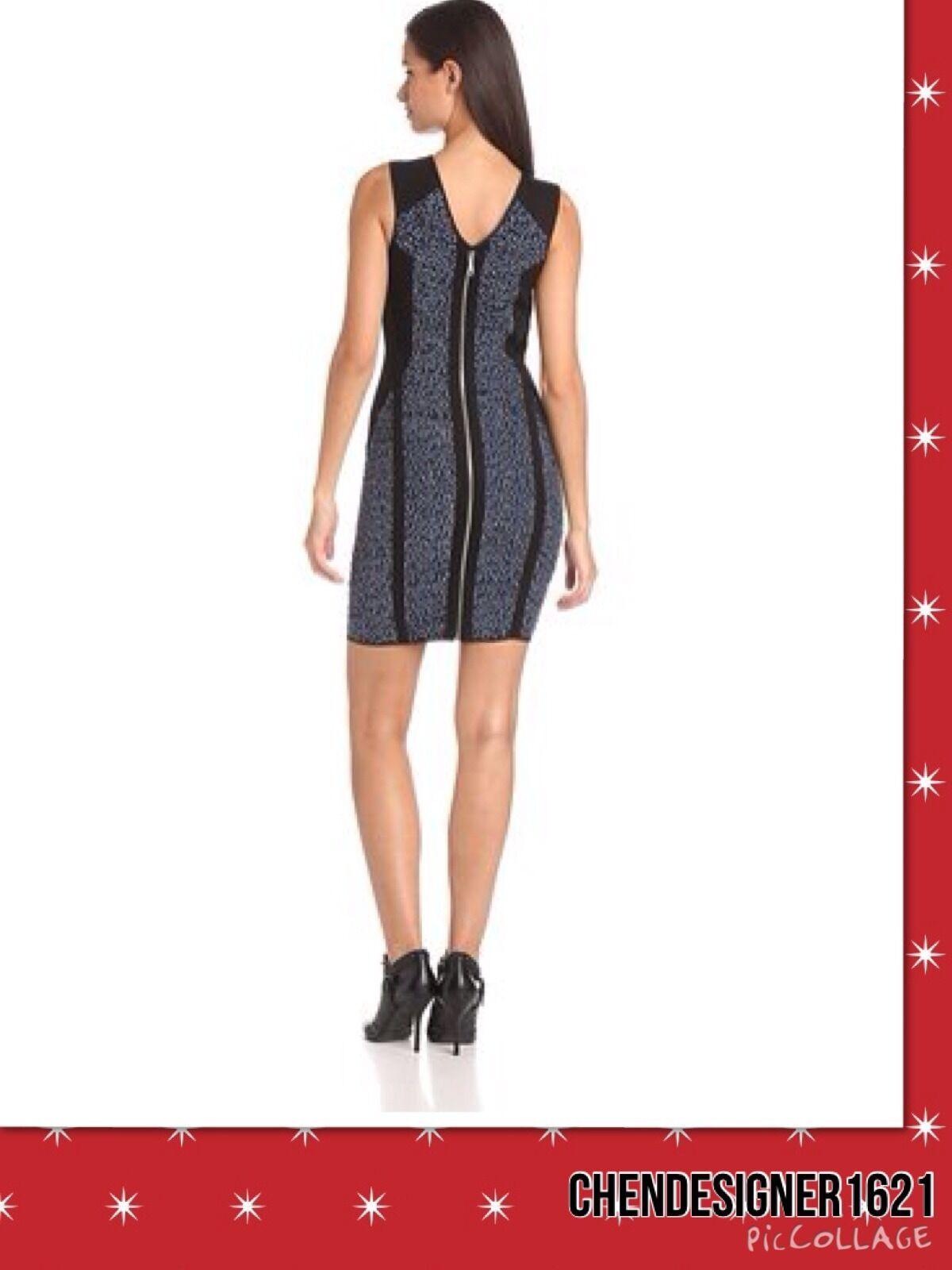 Rebecca Minkoff Women's Size 8 US Madison Madison Madison Printed silk Sleeveless Dress New e16270