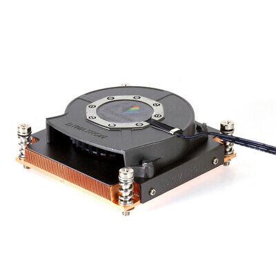 Dynatron R13 Intel LGA2011 Socket 2011 1U Server Active CPU Cooler Copper