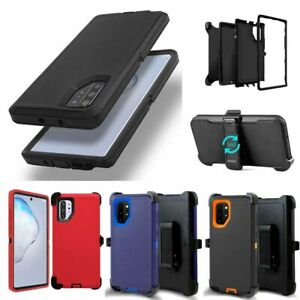 For-Samsung-Galaxy-Note-10-amp-10-Plus-Case-With-Belt-Clip-Fits-Otterbox-Defender