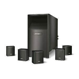 Bose Acoustimass 6 Series V Home Theater Speaker System - Black