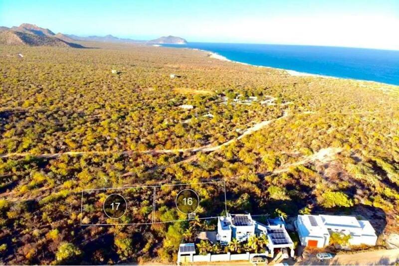 Amplio Terreno con vista panorámica al mar de Cortes en East Cape, con amenidades y acceso direct...