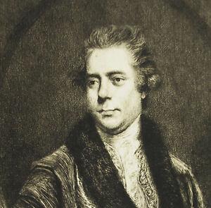 Engraving-c1874-Sir-George-Yonge-5th-Baronet-Ap-Joshua-Reynolds-Writer-Rajon