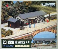 KATO N Scale 23-226 Yard Buildings Kit 4949727001678