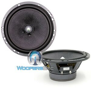 """FOCAL 6A1 6.5"""" 120W RMS CAR AUDIO COMPONENT MIDWOOFERS SPEAKERS NO GRILLS NEW"""