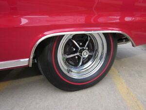 Red Line Tires >> Redline Red Rubber Tire Paint Side Wall Stripe Letter Muscle Car Hot