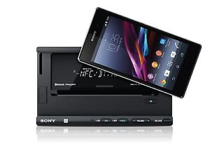 new sony xsp n1bt smartphone cradle bluetooth car stereo. Black Bedroom Furniture Sets. Home Design Ideas